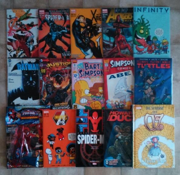 Comiclieferung 08-14