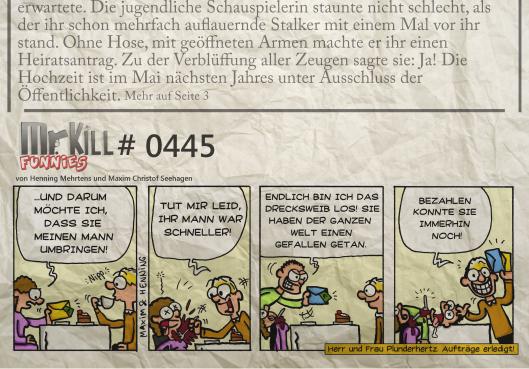 011Mr Kill Zeitungsfunny # 445