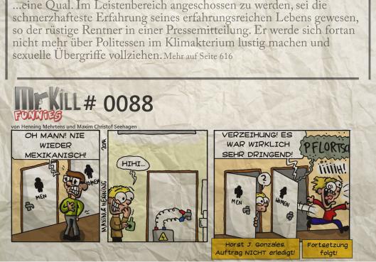 013Mr Kill Zeitungsfunny # 088