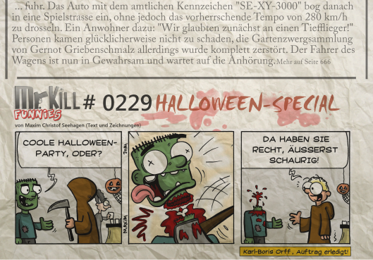 014Mr Kill Zeitungsfunny # 229