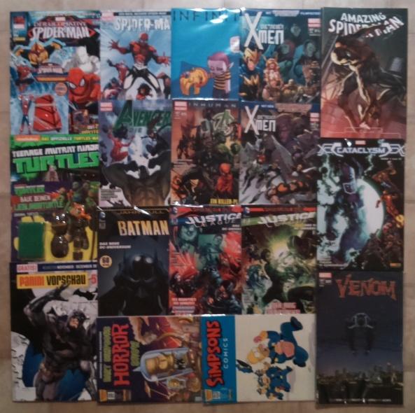 Comiclieferung 09-14