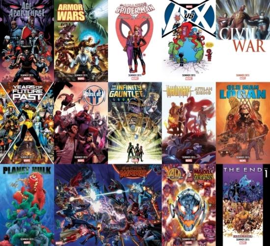 Marvel Teasers