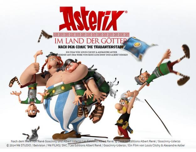 Asterix Und Obelix Im Land Der Götter
