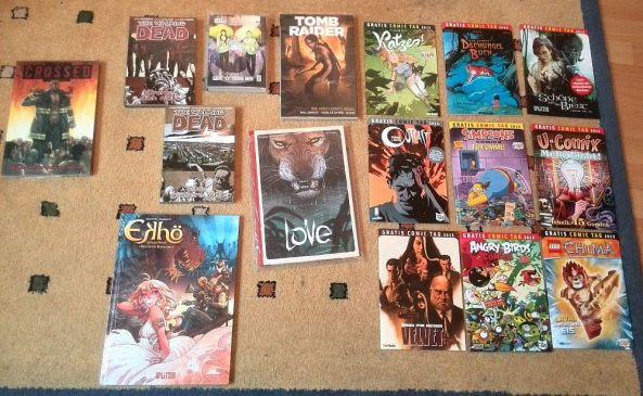 Meine Comic Sammlung im Juni 2015