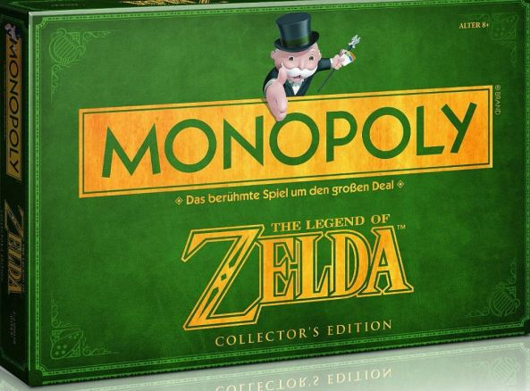 Monopoly der Klassiker im Zelda Gewand