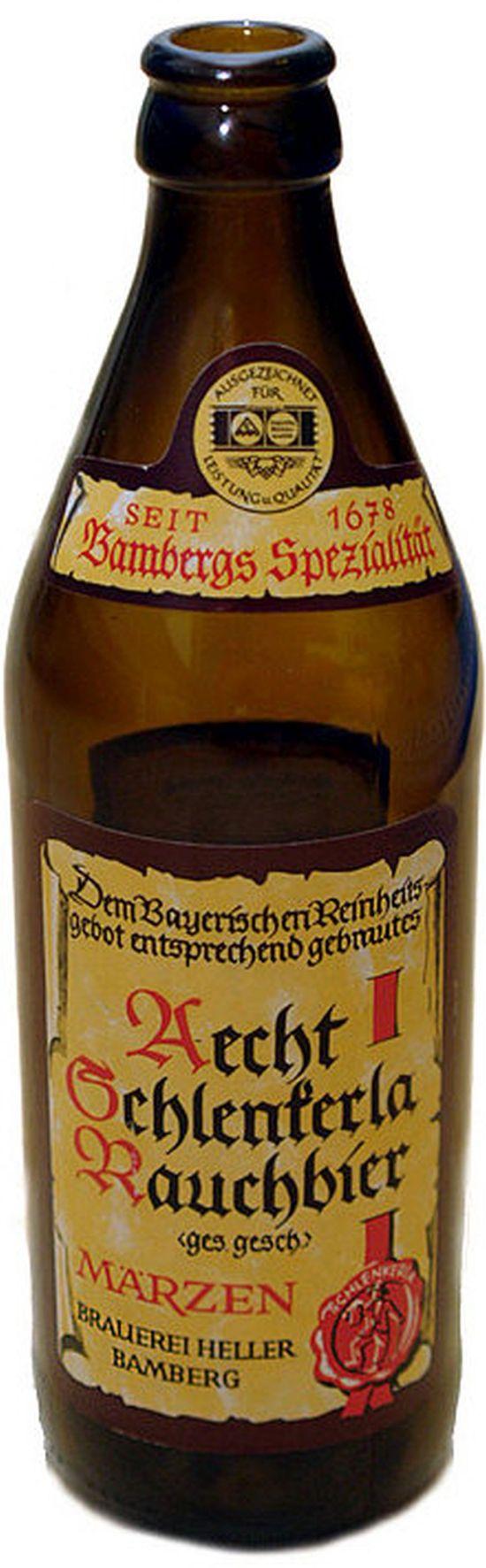 """""""Aecht schlenkerla rauchbier"""" von Ras - Eigenes Werk. Lizenziert unter CC BY-SA 3.0 über Wikimedia Commons"""