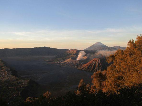 Vulkanlandschaft Mount Bromo