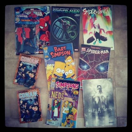 Comiclieferung 11-15