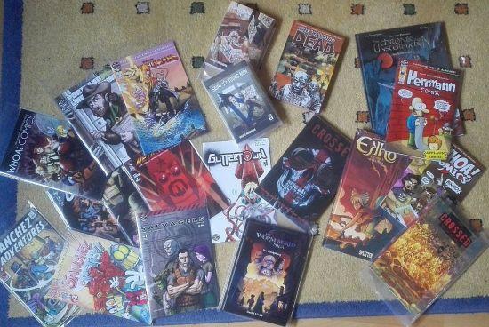 Comic Lieferung November/Dezember (einige Comics werden noch geliefert)