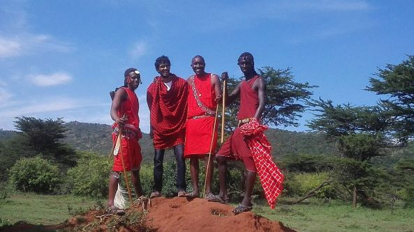 Me and the Masai