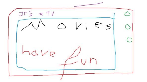 Selfmade Fernseher