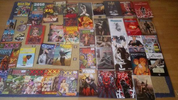 Meine signierten Comics in Erlangen 2016