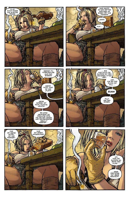 Das Gespräch bei Whiskey und Schnaps