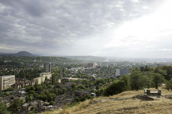 Ein Blick über Pjatigorsk.