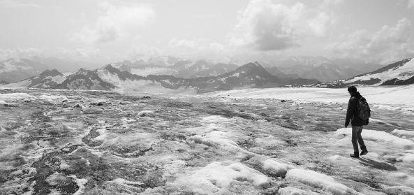 Am Elbrus unterwegs.