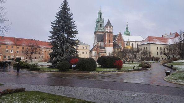 Innenhof der Burg Wawel