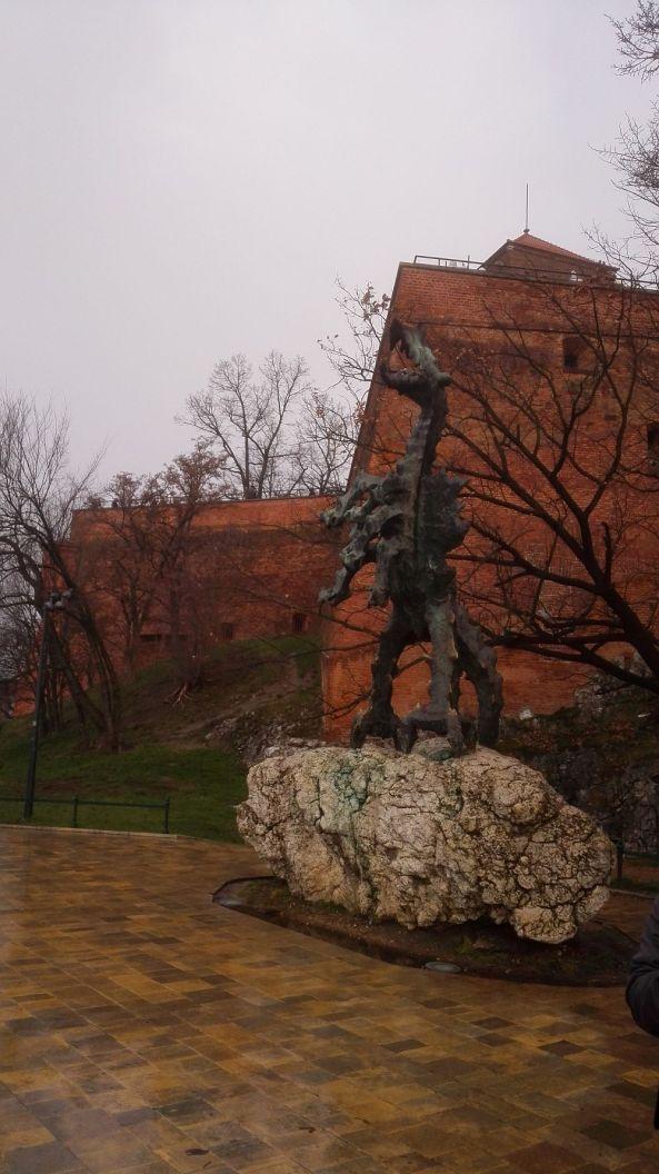Der Drache der Burg Wawel