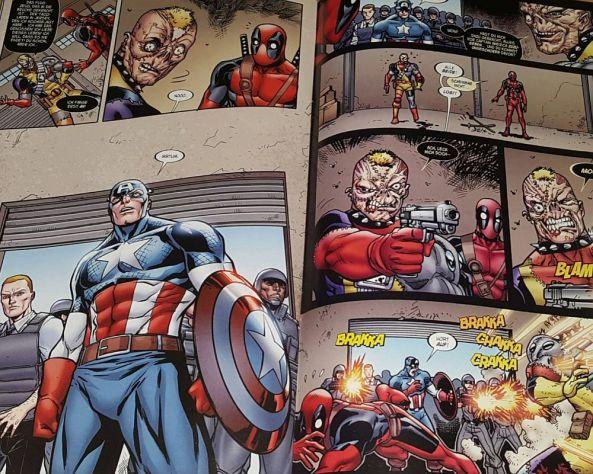 Captain America sorgt für Recht und Ordnung ...