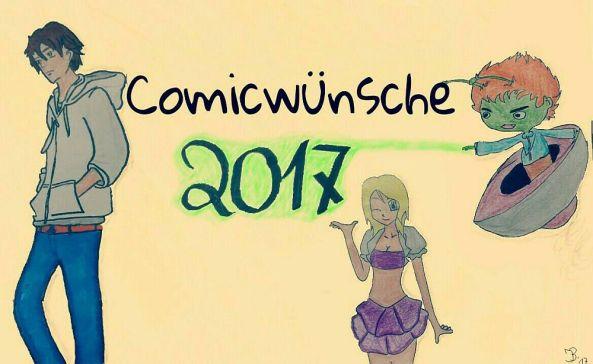 Comicwünsche 2017