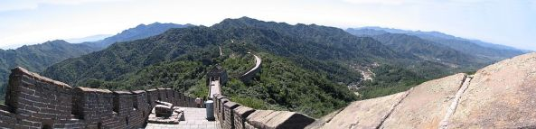 Die Chinesische Mauer - picture is taken from Wikipedia