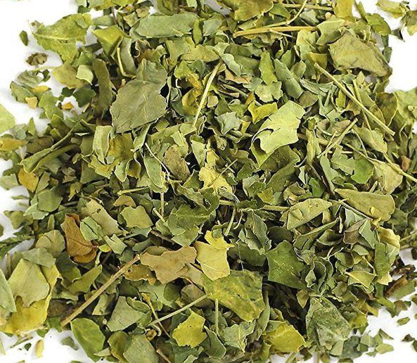 Moringa Tee geschnitten