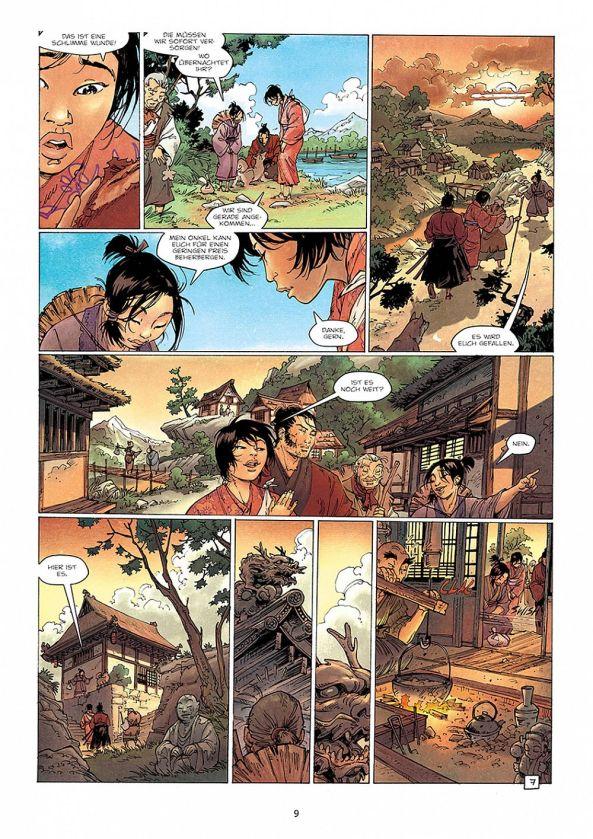 Ririko und ihr Dorf.
