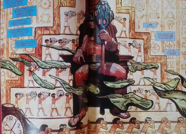 Was macht Kang der Eroberer in Ägypten?