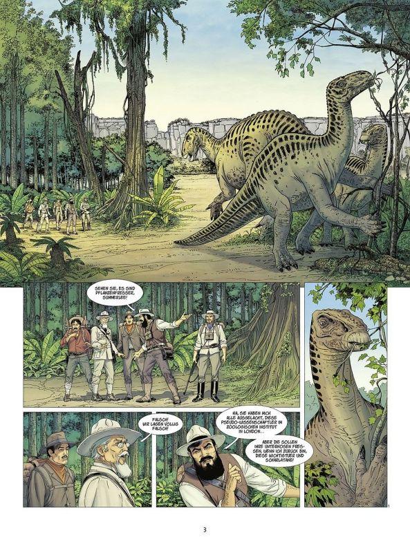 Es gibt wirklich Dinosaurier!