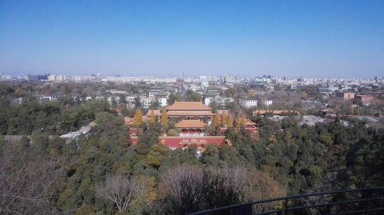 Die Verbotene Stadt - ein Blick über Peking