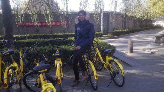 Mit dem Fahrrad durch Peking
