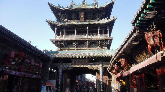 Unterwegs in der Altstadt Pingyao