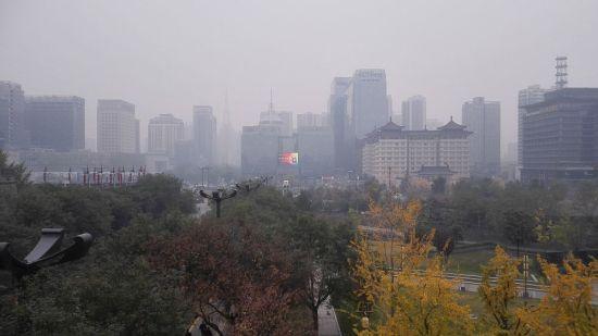 Smog in Xian