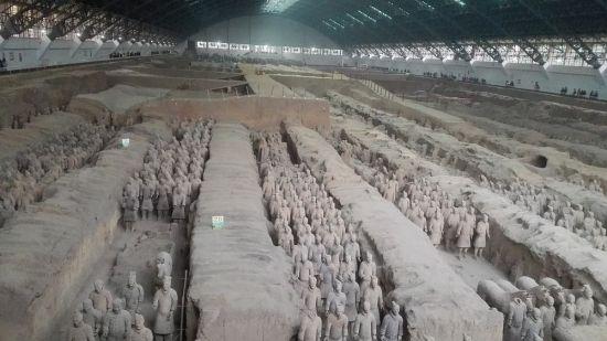 Besichtigung der Terrakotta-Armee