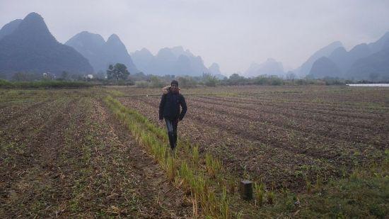 Eine Wanderung entlang der Kegelkarstberge