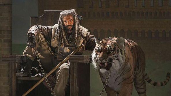Ezekiel und sein Tiger.