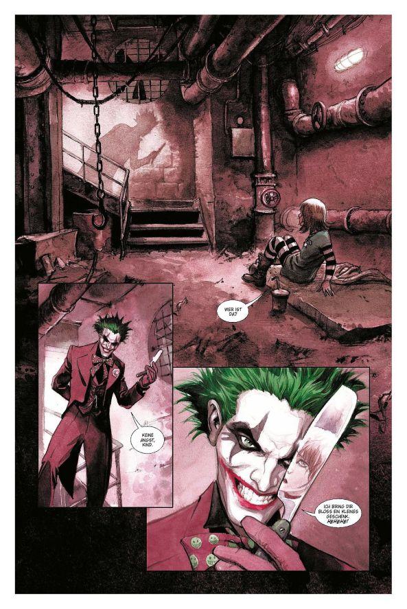 Der Joker und das arme kleine Mädchen ...