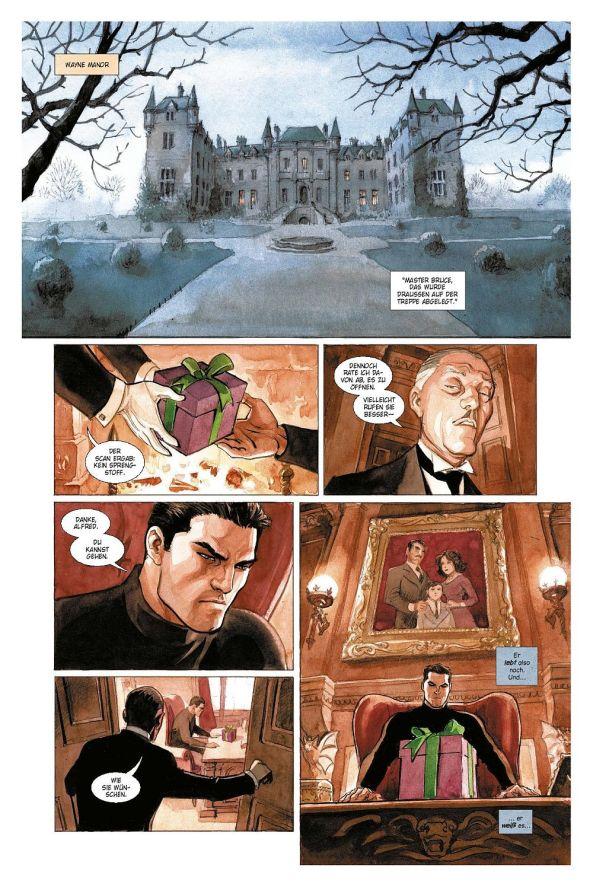 Der Joker lebt, ein Geschenk für Batman.
