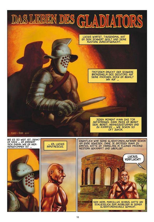 Das Leben des Gladiators