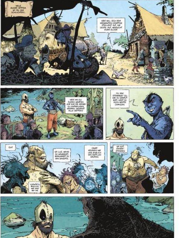 Bulrog und Bragon kämpfen für den Unterhalt ...