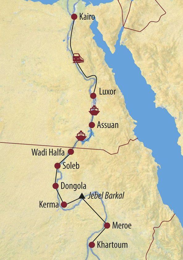 Sudan und Ägypten