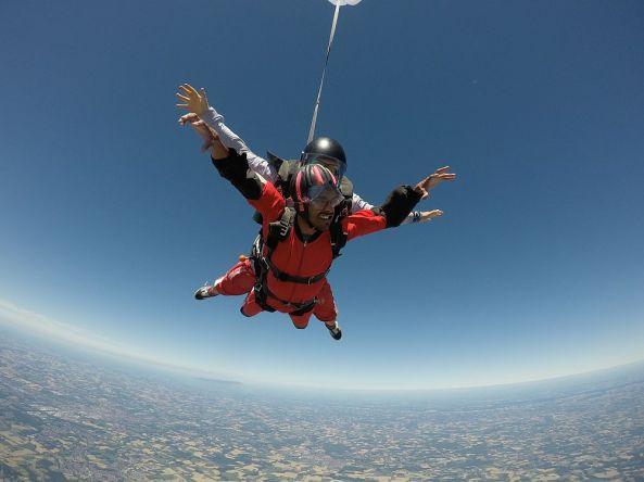 Tandem Fallschirm Sprung