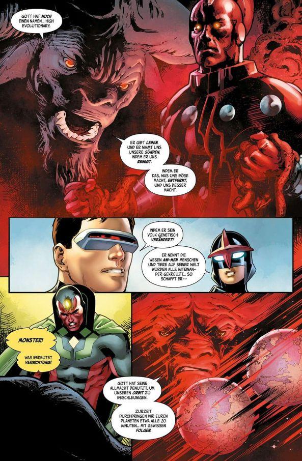 Die Avengers und die Champions erfahren über die Pläne des High Evolutionary ...