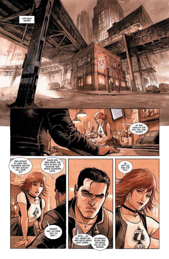 Bruce Wayne und Mariah