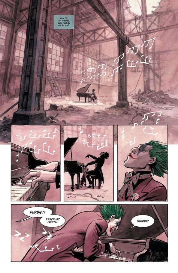 Der Joker hat Alina entführt