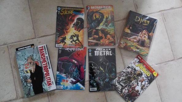 Dominiks Comic Lieferung im September 2018
