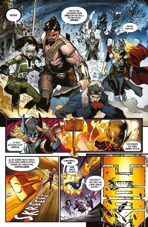 Thor und ihr Hammer ...