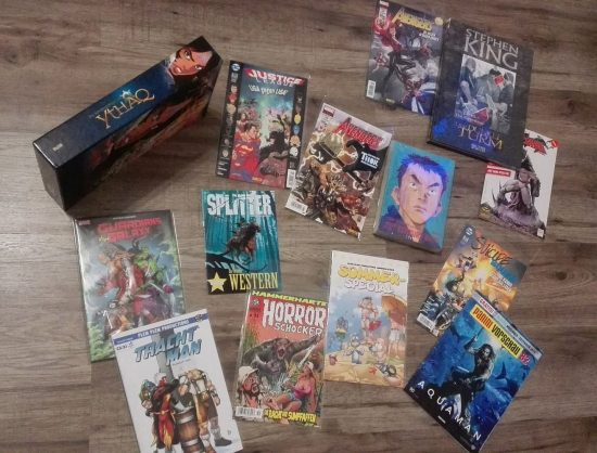 Dominiks Comic Lieferung im Oktober 2018