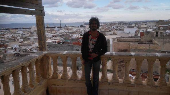 Ein Blick über die Altstadt Medina