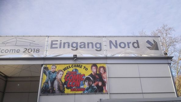 Welcome to Comic Con Dortmund
