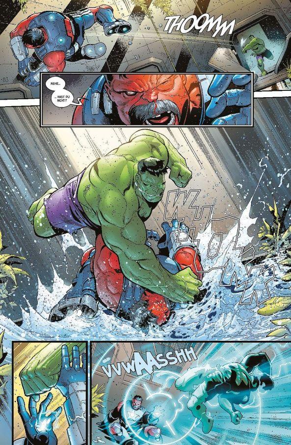 Der Hulk ist wütend ...
